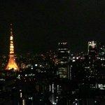 panorama notturno dal 32esimo piano