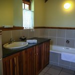 Bathroom in two bedroom cottage