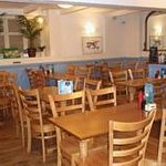 Seafoods Fish and Chip Restaurant downstairs dining
