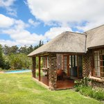 Two bedroom cottage with private swimming pool