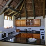 Kitchen in one bedroom cottage