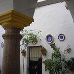 Columna del patio