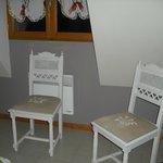 Chaise dans la chambre