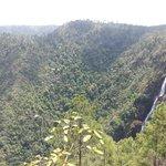 Beautiful 1000-ft Fall in Mt. Pine Ridge Preserve