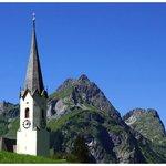 Die Kirche von Schröcken