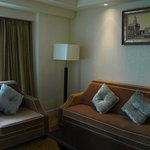 Sofa in the superior double room