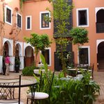 Tranquill courtyard