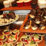 Tasty bruch desserts