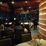 Around the restaurant