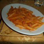 Pasta with Vodka Sauce and Prosciutto