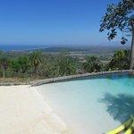 Ausblick vom Pool