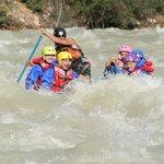 Sunwapta River in High water