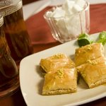 Baklava & Hot Tea