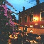 la piazzetta del ristorante
