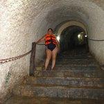 Escalinatas para el Cenote