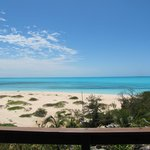 view from our private balcony at Shannas Cove Resort