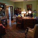 Living Room @ Hambleton House B&B