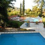 piscina climatizada , jardines y otra piscina