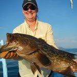grouper caught April 2013