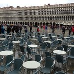 Piazza San Marco under the rain