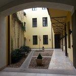Retezova Courtyard