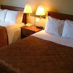 Section hôtel chambre à 2 lits