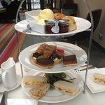 Afternoon tea at Rudding Park