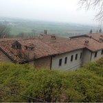 vista del convento dal giardino