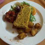 Lentil Loaf. I wish I could eat this right now