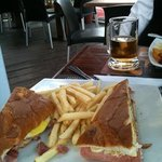 Sandwich, brought half home!