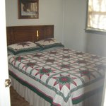 One of the bedroom in our two bedroom cottages
