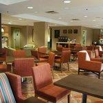 Hampton Inn Sarasota Bee Ridge guest lobby area