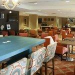 Hampton Inn Sarasota Lobby Lounge area
