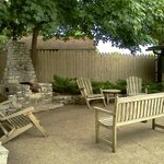 picnic area and fire pit