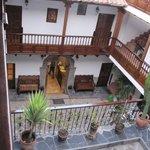Inner courtyard.