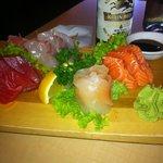 Mixed sashimi, wasnt too bad.