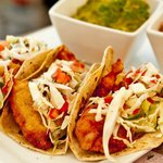 Container Fish & Shrimp Tacos