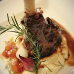 Calvados & Rosemary Infused Lamb Shank