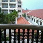 pool/garden view??? room 154