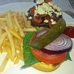 A Great Burger at the Canoe Club
