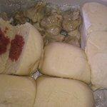 manapua and pork hash