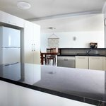 Kitchen in a three bedroom apartment