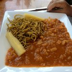 Sopa seca (dry soup)..  can't recommend it!