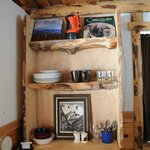 Inside Munchin Moose Cabin