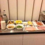 buffet petit déjeuner la suite