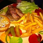 Great bacon chesseburger