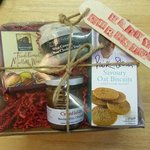 Hampers for all occaisions - here's a little one from Christmas - made to order starting at £10.