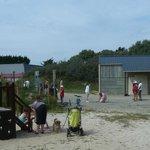 aires de jeux et snack du camping de l'aber benoît finstère