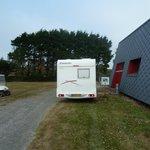 Aire de service camping-car du camping de l'aber benoit finistère
