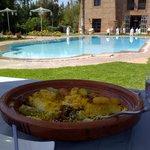 Couscous à déguster au bord de la piscine